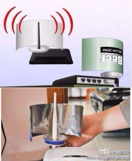 自制WIFI信号易拉罐放大器-完美源码