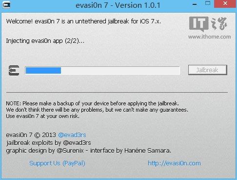 5分钟搞定,真正纯净的iOS7.x完美越狱教程-完美源码