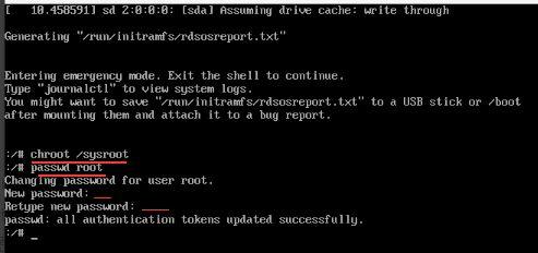 Centos 7.3破解密码-完美源码