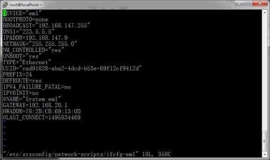 Centos6和7 ip和网关不在同一网段-完美源码